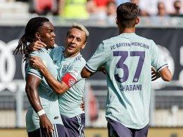 Renato Sanches frech: Bayern schlägt Paris 3:1