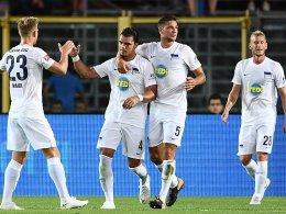 Munterer Kick: Hertha verliert 2:3 in Bergamo