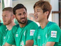 Mit Pizarro und Osako: Bremen spielt 1:1 gegen Venlo