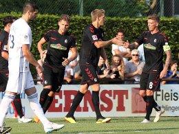 Freiburg gibt 2:0 gegen Straßburg aus der Hand