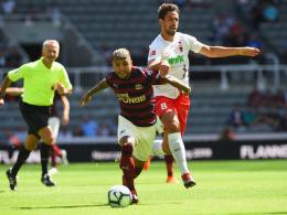 Max flankt, Gregoritsch trifft: FCA schlägt Newcastle