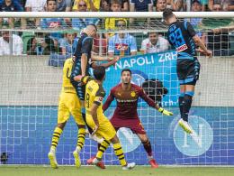 Patzer gegen Neapel: BVB verpasst den
