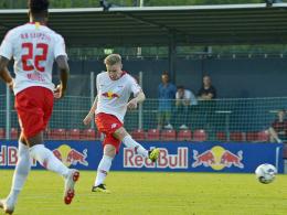 Leipzig gewinnt bei Halstenberg-Debüt 1:0 gegen Lubin