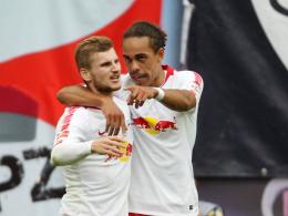 Werners Doppelpack beschert RB ersten Saisonsieg