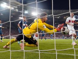 Nullnummer am Freitag: Zieler rettet VfB einen Punkt