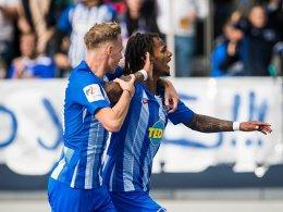 Ibisevic-Doppelpack hält Hertha in der Erfolgsspur