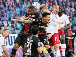 Doppelpack Poulsen: Leipzig springt auf Platz drei