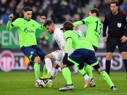 Fährmanns Faust und Caligiuris Volley: Schalker Remis beim FCA
