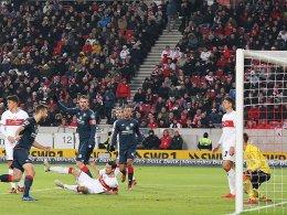 2:3 - Stuttgarts Schlusspurt kommt zu spät