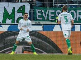 Rashica führt Bremen zum verdienten Auswärtssieg