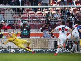 Poulsens Doppelpack besiegelt Stuttgarts Niederlage