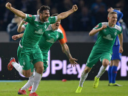 90.+6! Pizarro nimmt Hertha-Mauer als Ping-Pong-Hilfe