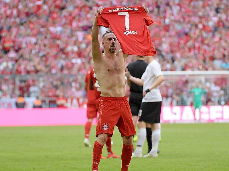 Er traf ebenso wie Robben in seinem letzten Bundesliga-Spiel für den FC Bayern: Franck Ribery.