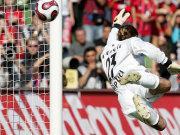 Unüberwindbar für die Leverkusener Angreifer: Tomislav Piplica
