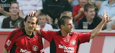 Gekas (li.) und Schneider.