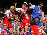 Da Silva gewinnt zwar den Luftkampf in Cottbus, doch den Ball brachte er nicht im Tor unter.