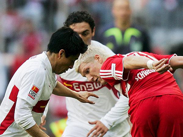 Osorio und Hilbert gegen Schweinsteiger
