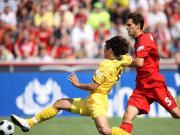 Dortmunds Valdez erzielt das 1:0 für die Schwarz-Gelben