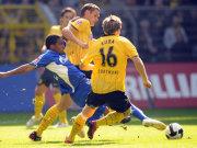 Schalkes Farfan gegen Dortmnds Kehl und Kuba