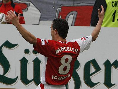 Seine beiden Tore reichten nicht für Cottbus: Dimitar Rangelov