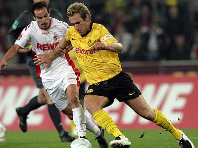Florian Kringe gegen Petit (li.)