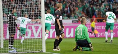 Bremen jubelt, Hertha am Boden