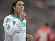 Bremens Torjäger Claudio Pizarro