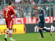 Verkehrte Welt: Ribery (li.) und Brosinski.