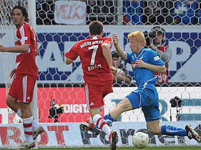 Ribery bringt Bayern in Front.