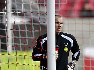 Endlich wieder zwischen den Pfosten bei Hannover 96: Robert Enke.