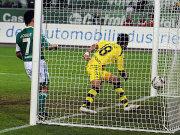 Barrios beim 2:0 für Dortmund