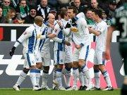 Bochumer bejubeln das 1:0