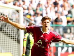 Toller Einstand: Nürnbergs Neuzugang Jens Hegeler traf zur Führung für den Club.