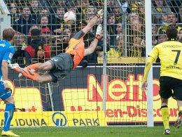 Tom Starke kassiert mit Hoffenheim das späte 1:1