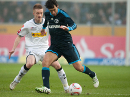 Marco Reus (li.) gegen Raul