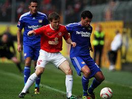Michael Ballack gegen Radoslav Zabavnik