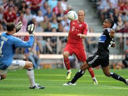 Arjen Robben erzielt das 2:0