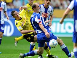 Lewandowski bleibt an Hubnik hängen