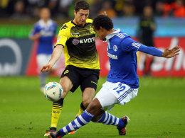 Lewandowski (li.) vs. Matip