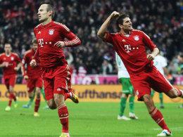 Robben und Gomez