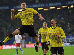 Lewandowski jubelt