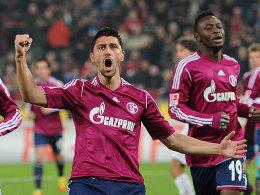 Er drehte das Spiel für den FC Schalke: Ciprian Marica traf doppelt für das Team aus Gelsenkirchen.