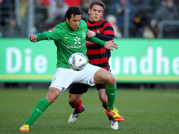 Bremens Pizarro gegen Freiburgs Sorg