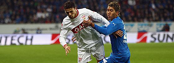 Stuttgarts Boulahrouz gegen Roberto Firmino