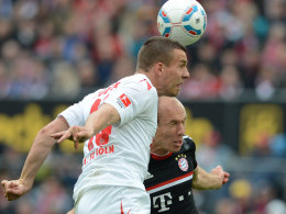 Podolski überspringt Robben