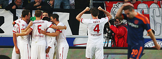 Stuttgart bejubelt das 2:1