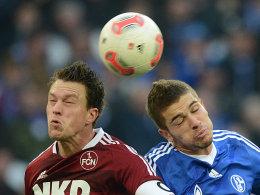 Nürnbergs Balitsch und Schalkes Neustädter.