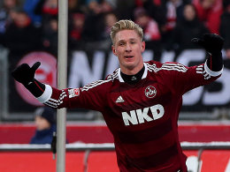 Jubel nach dem 1:0: Sebastian Polter.