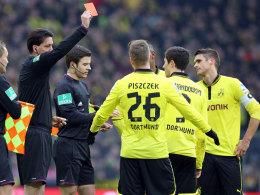 Gräfe zückt Rot gegen Lewandowski
