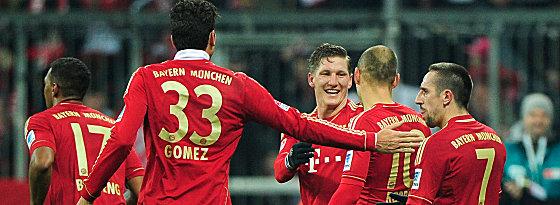 FC Bayern jubelt